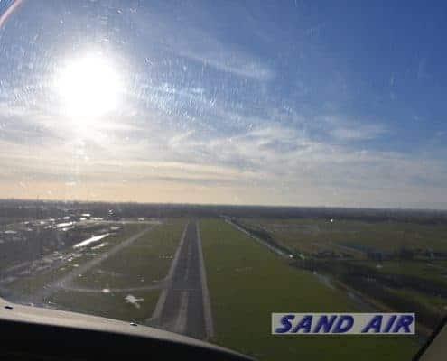 Luchtfoto rondvlucht