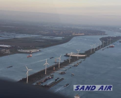 Sand Air vliegles rondvlucht