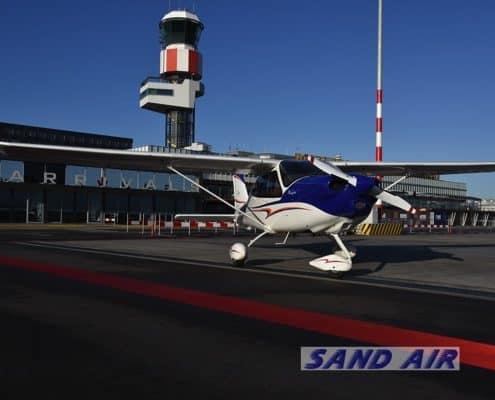 Sand Air Rondvlucht vliegles Huwelijksaanzoek